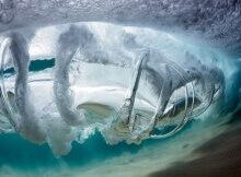 Gyroscope ocean art photograph by Warren Keelan