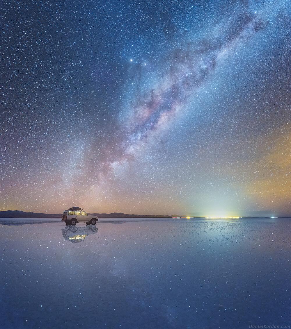 Daniel Kordan night sky photo